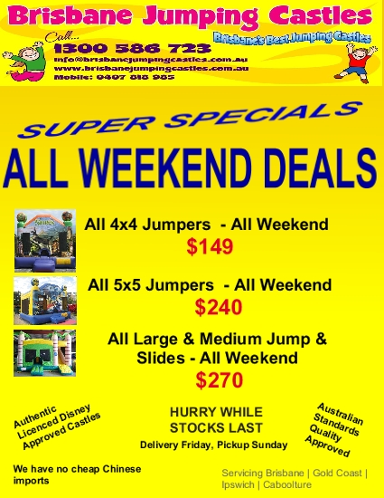 All Weekend deal 001