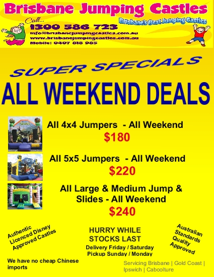 All Weekend deal 6
