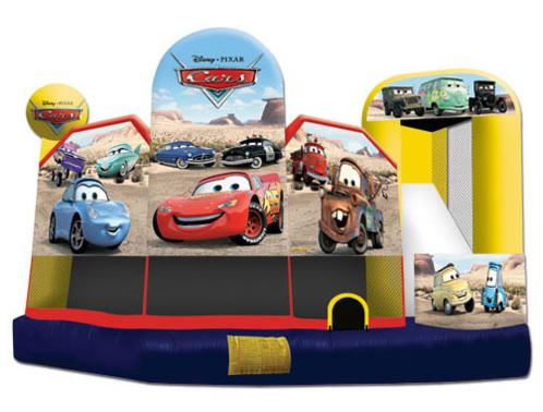 CARS 5in1 Combo Ninja jump Front 2