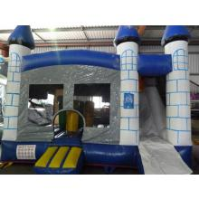 Blue Combo Jumping Castle 4x4m