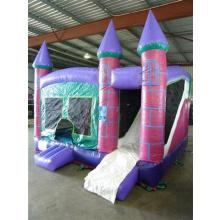 Purple Combo Jumping Castle. 4x4m