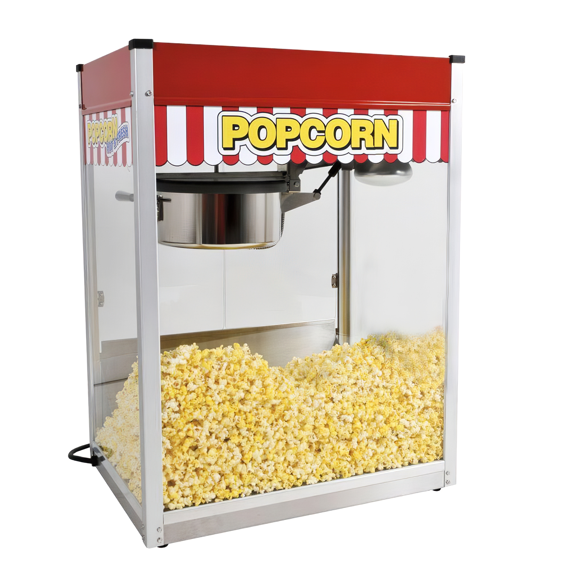 red and stainless steel paragon popcorn machines 1116810 64 1000 edit2