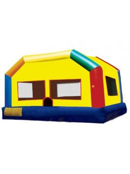 Adult Fun House Ninja jump front