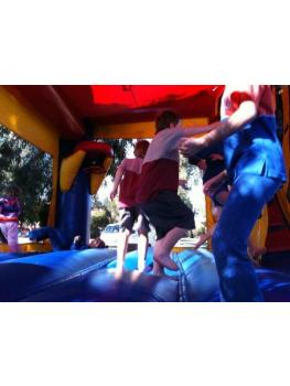 Adult II Combo JUmping area with kids