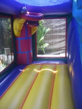 Mini Purple Jumping area with hoop3