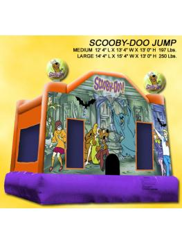 Scooby doo jump 4X4m sub picture