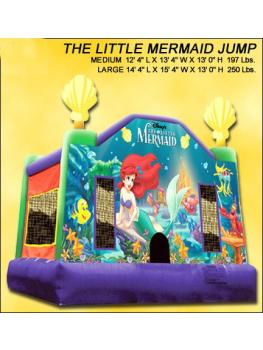 The little mermaid jump 4X4m