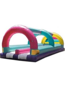 Water slide flat bed dual lane 1